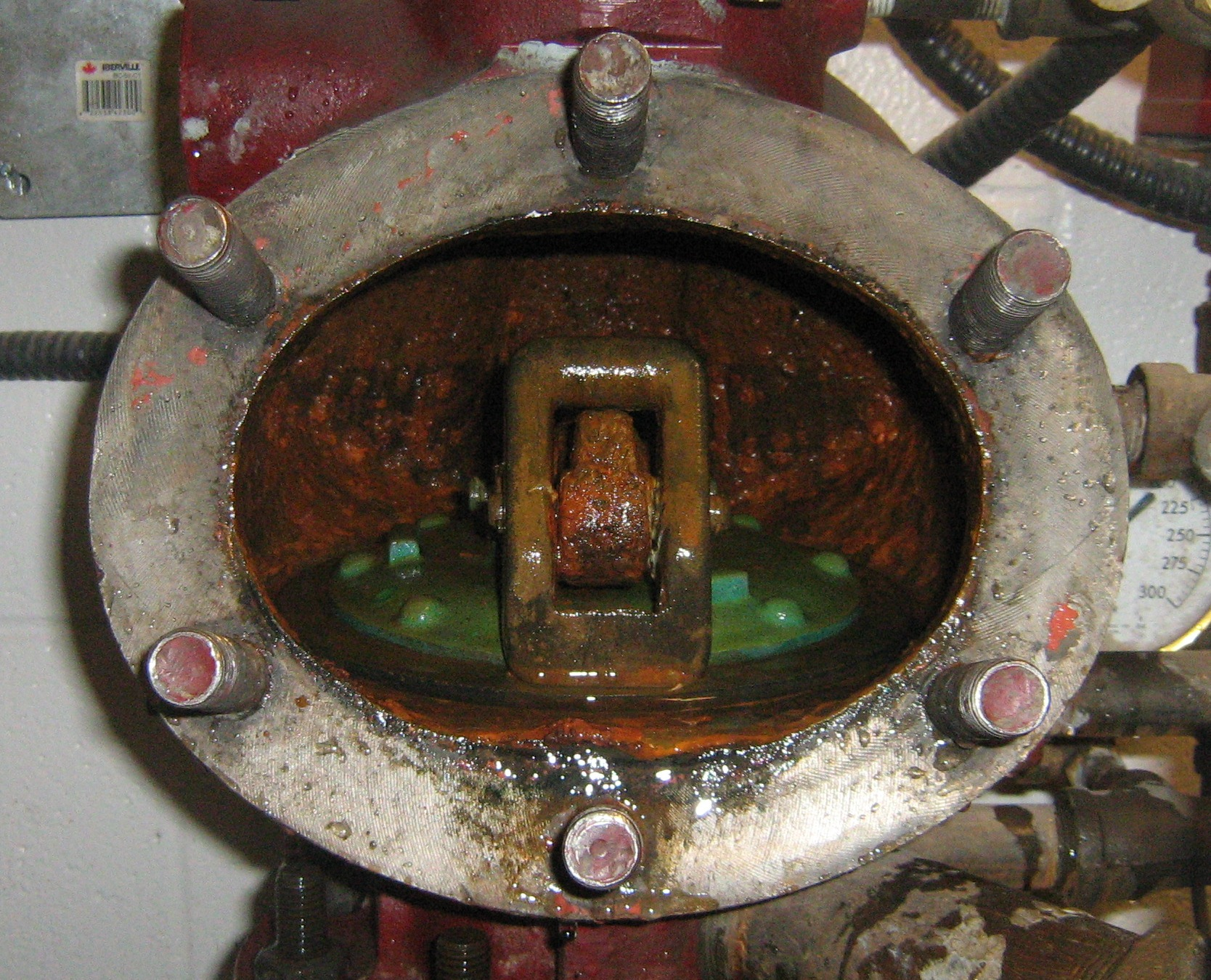 Just a Neat Pic - Dry Valve