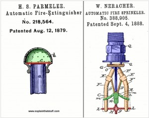 Early Sprinkler Patents